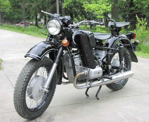 Мотоцикл кмз 8 157 01 днепрсоло