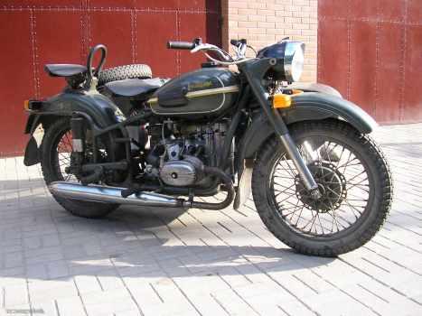 Мотоцикл Урал - 3 (М - 66) - Мотоциклы России и СССР